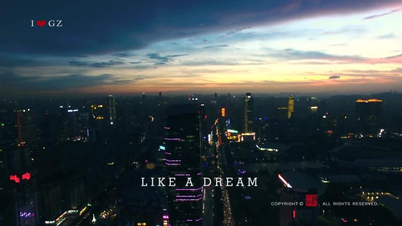 广州最潮航拍宣传片2017 4K超高清 China guangzhou ultra hd aerial photography propaganda film