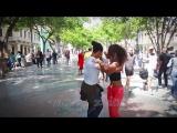 Salsa pura cubana en Paseo del Prado de La Habana - con Geonys BOLOY y lisandra
