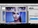 Help in photoshop  Скринкапсовый аватар. Микс кисть, светотень, использование шаблона и текстур.