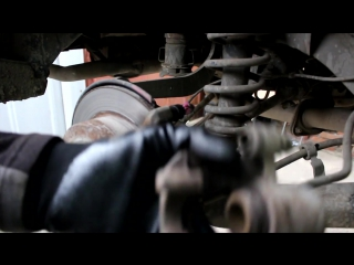 Toyota Caldina (Тойота Калдина) замена задних тормозных колодок