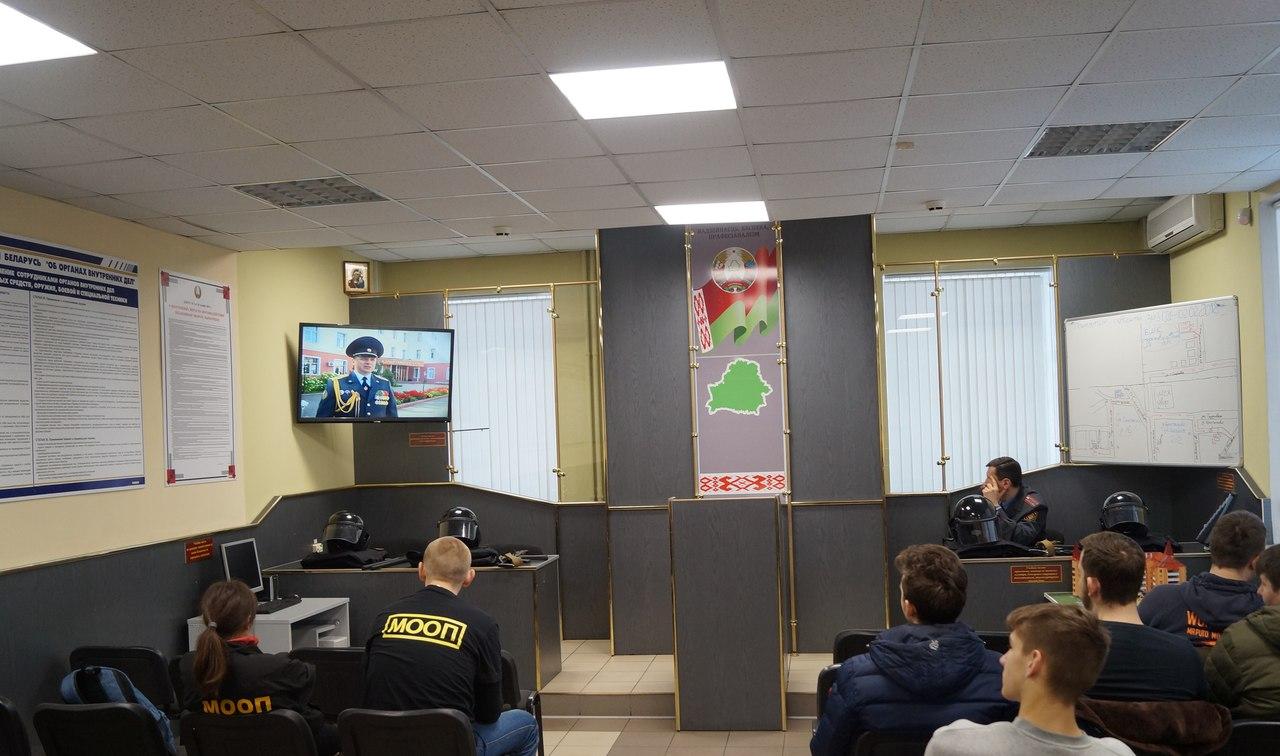Учеба молодежных отрядов охраны правопорядка прошла в Бресте