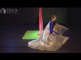 Танцы на полотнах (цирковые полотна) от DIVA Studio - Агата с номером