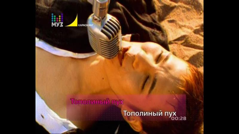 Иванушки International - Тополиный Пух (Караокинг|Муз-ТВ) караоке (с субтитрами на экране)