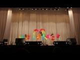 24.12.17 Отчетный концерт студии. Зафира ЕЛЕЦ. шоу-трио. Колпачева Нина, Трубицына Олеся и Самохина Виктория
