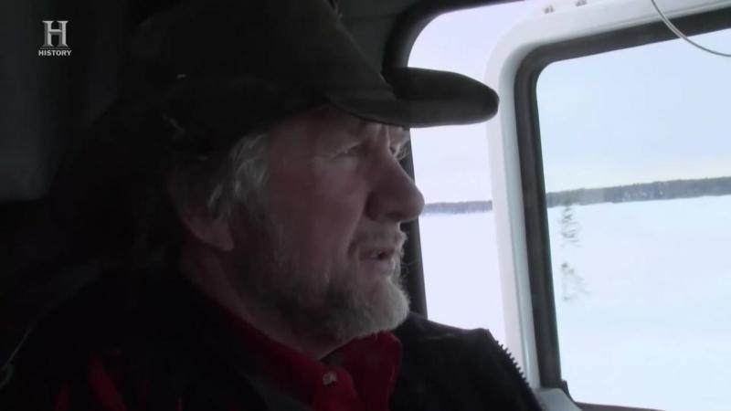Ледовый путь дальнобойщиков 11 сезон 2 серия. Непредвиденная опасность (2017)
