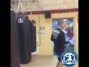Тренировки в БК Ударник - Отработка вертушки - ММА, Смешанные единоборства