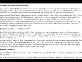 Gutmenschin muss Bürgschaft für Asylanten übernehmen.