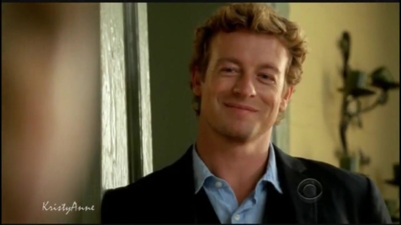 Simon Baker's Patrick Jane in Mentalist smile