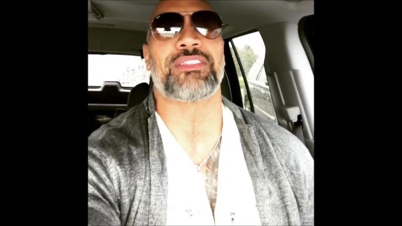 @therock Instagram: 19.09.2017