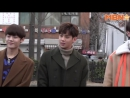 Handsome Guys/Hoonnams - Spotted at Music Bank (19.01.18)