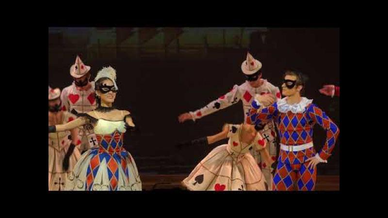 4K Yuri Burlaka Staging Harlequinade Ex Bolshoi Ballet Director Les millions d'Arlequin