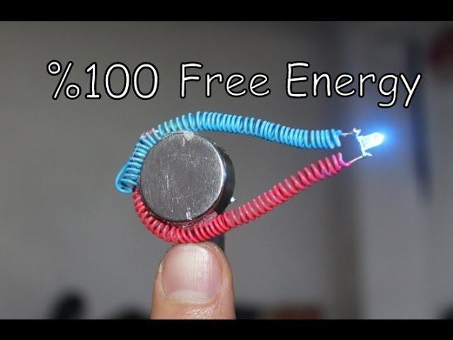 5 Basit Sınırsız Elektirik Projesi | FREE ENERGY