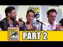 PREACHER Comic Con Panel (Part 2) - Dominic Cooper, Ruth Negga, Joseph Gilgun, Seth Rogen