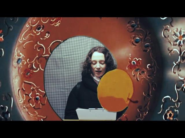 Окно в сказку: Мария читает отрывок из сказки Снежная королева