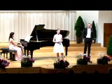 Naomi O'Connell, mezzo-soprano Ludwig Mittelhammer, baritone S. Munoz, piano La ci darem la mano