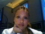 Jessica Alba The Stare Response on ibeatyou