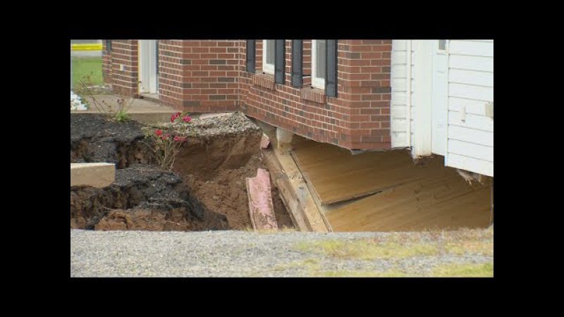 House swallowed by sinkhole overnight in Nova Scotia