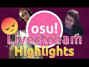 Osu Livestream Highlights Rafis Mad Azer breaks the rules Bubbleman God Mode