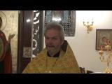 Проповедь отца Игоря Лысенко 22 октября 2017 г. (ранняя литургия)