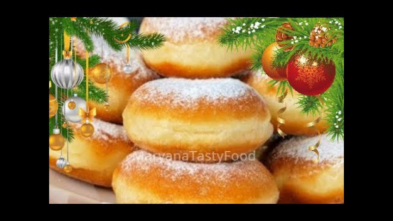 ✧ ПОНЧИКИ ВОЗДУШНЫЕ [Самые Вкусные] ✧ Donuts Recipe ✧ Марьяна