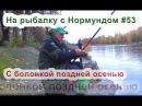 Болонская ловля поздней осенью На рыбалку с Нормундом 53