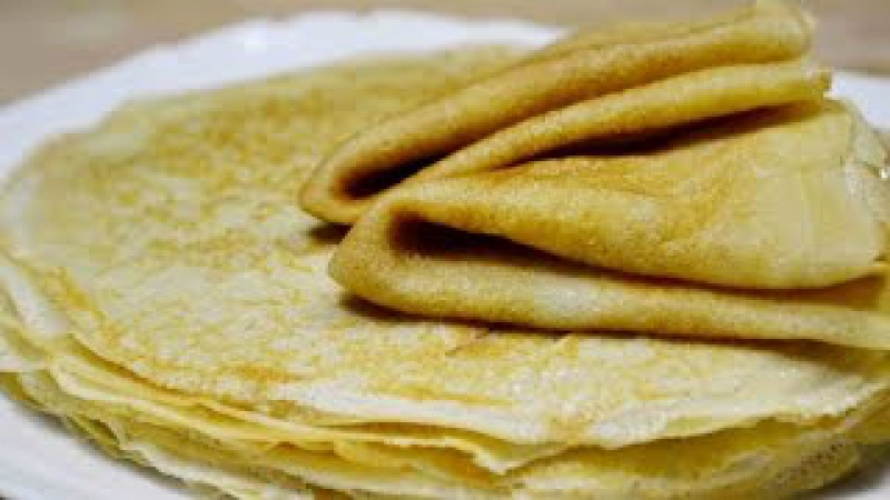 ТОНКИЕ БЛИНЧИКИ, которые получаются всегда! | БЛИНЫ на молоке, кефире или воде | Pancakes