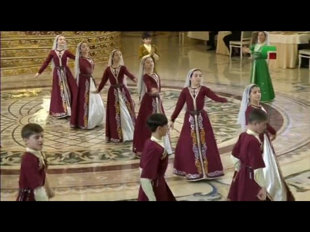 Детский ансамбль «Даймохк» - Танец на конкурсе вручения премии «Национальная пя...