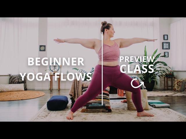 Beginner Yoga Class with Dana Falsetti: Learn Warrior Pose