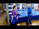 Бокс Передвижения на ногах