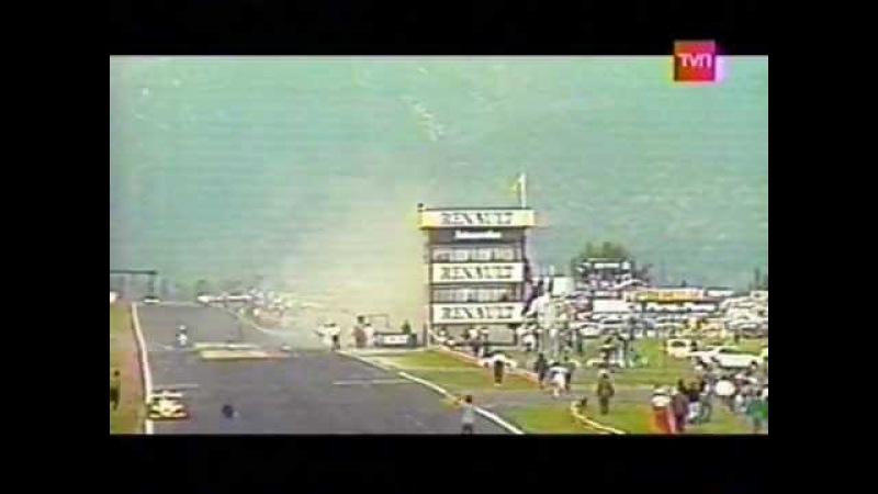 Sergio Santander Fatal Accident Chilean Formula 3 1987