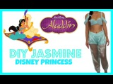 EASY DIY HALLOWEEN COSTUME: How to be Jasmine Disney Princess!