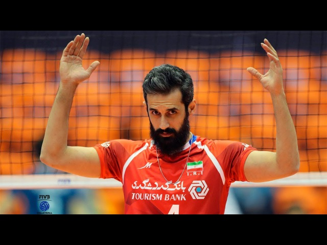 The best volleyball setter in the world Saeid Marouf