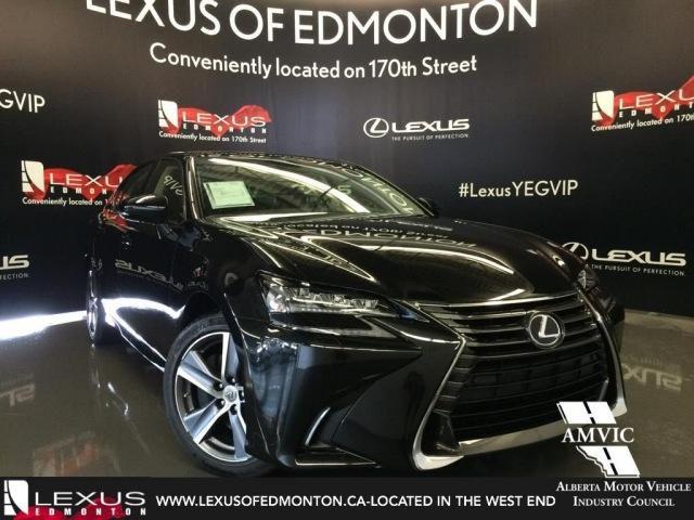 2016 Black Lexus GS 350 AWD Premium Walkaround Review | West Edmonton Alberta