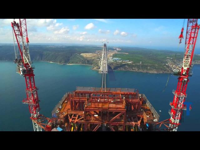Astaldi S.p.A/Salini Impregilo S.p.A(Italy) Yavuz Sultan Selim Bridge (Turkey)