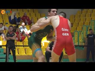 Ringen int. Brandenburg-Cup 2016 Junioren (Gr./Rö.) - 66kg Quali