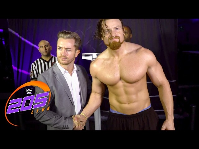 Buddy Murphy aims to compete on The Grandest Stage of Them All: WWE 205 Live, Feb. 13, 2018