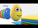 Яйца с сюрпризом и Ксилофон Учим Цвета Surprise Eggs Finger Family Развивающий мультик для д ...