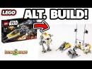 ALT BUILD! LEGO Star Wars Y-Wing Starfighter ► Full Star Wars Playset w/ Walker