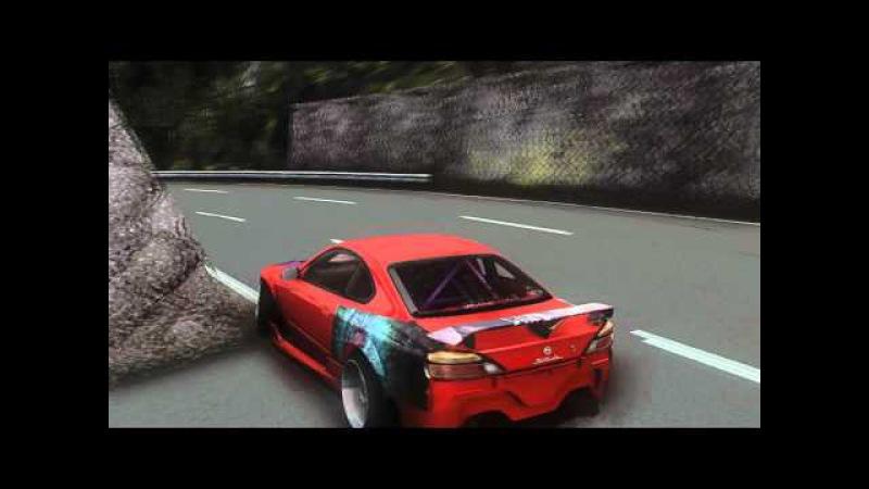 SLRR: Nissan silvia s15 kanagawa drift.