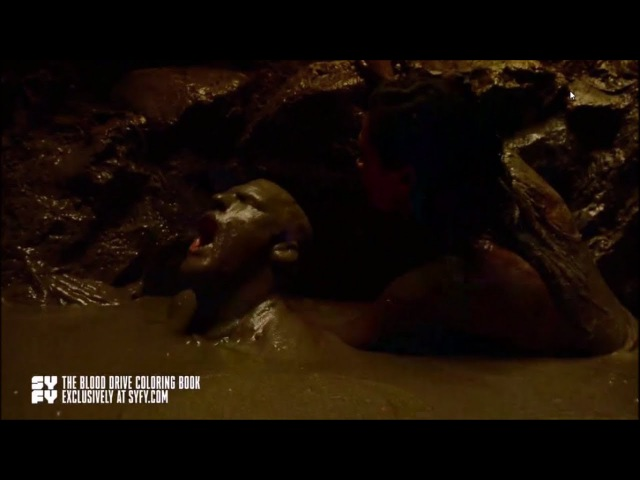 Blood Drives MUD scene
