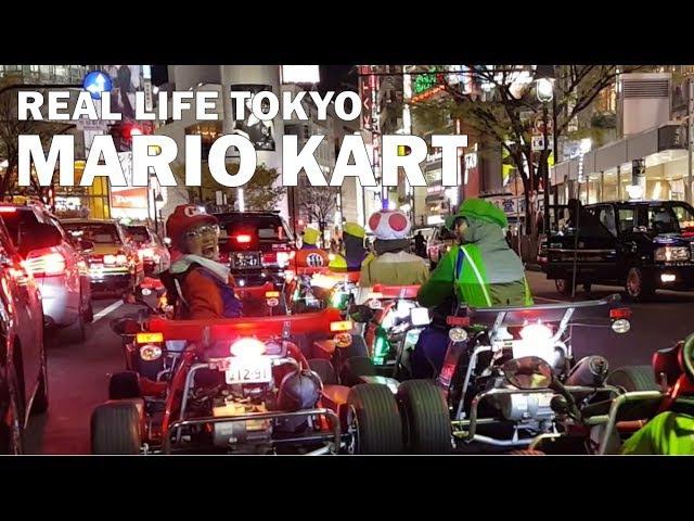 Mario Kart in Tokyo   The Ultimate Go Kart Experience!