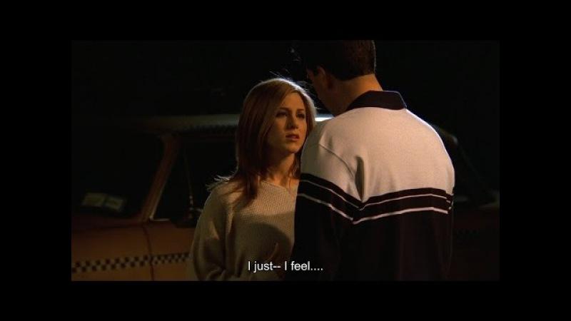Друзья S03E25 Идея Рейчел побрить Бонни наголо и поцелуй с Россом