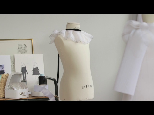 Baby Dior The Savoir faire of the Pierrot Dress