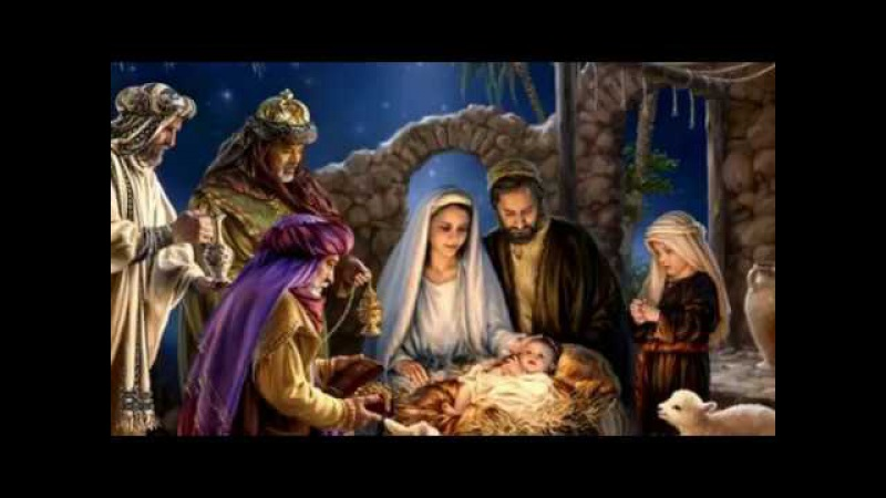 Песня на Рождество Искрятся снежинки в ночь Рождества Шинкарева Светлана хри