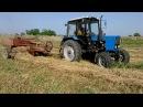 Трактор МТЗ Беларус 82.1 и пресс-подборщик Кыргызстан