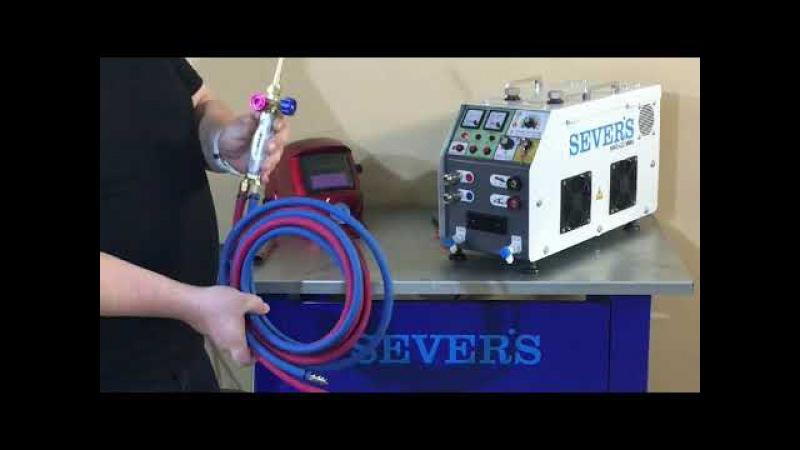 SEVER'S HHO-G3/MMA universal hydrogen welding station 2 in 1