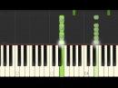 Как играть Пошлая Молли - Нон Стоп разбор пианино ноты аккорды tutorial урок табы скачать midi