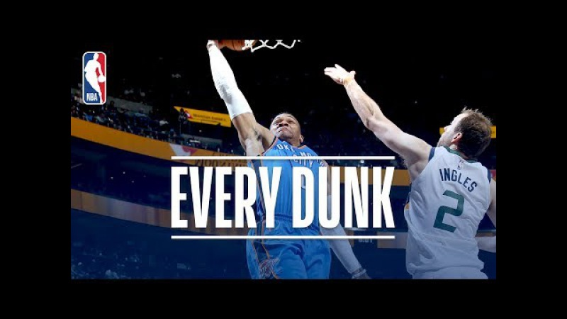 Domantas Sabonis, C.J. McCollum, and Every Dunk From Saturday Night | December 23, 2017