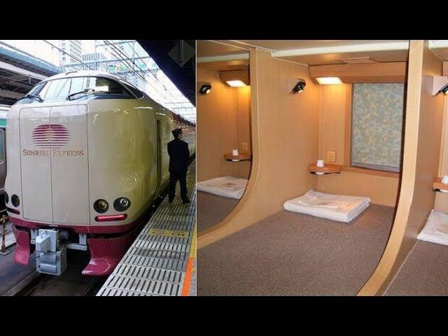 Плацкартные вагоны Японии 100 удивят наших соотечественников