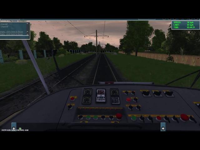 Trainz 12 катаемся на карте Чапаево